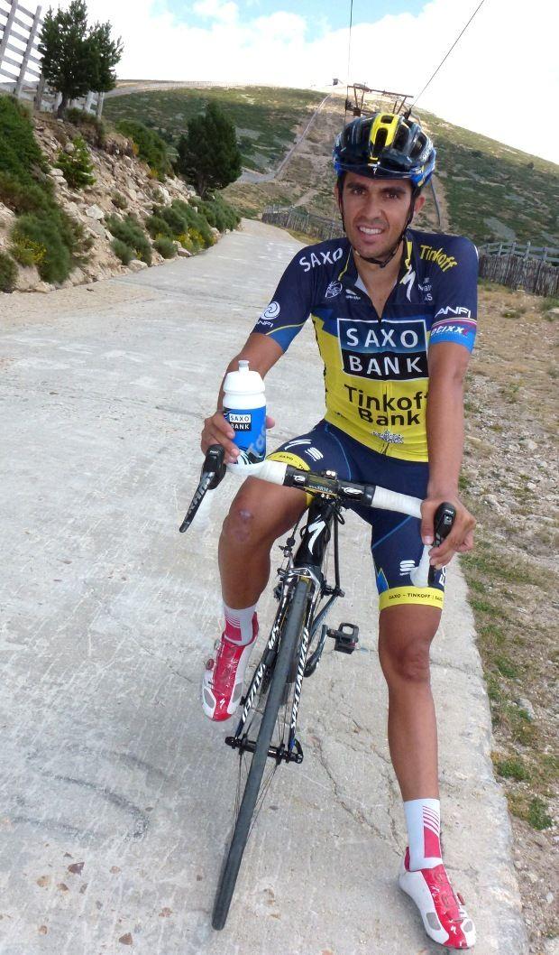 abde8400d Alberto Contador - Saxobank Tinkoff
