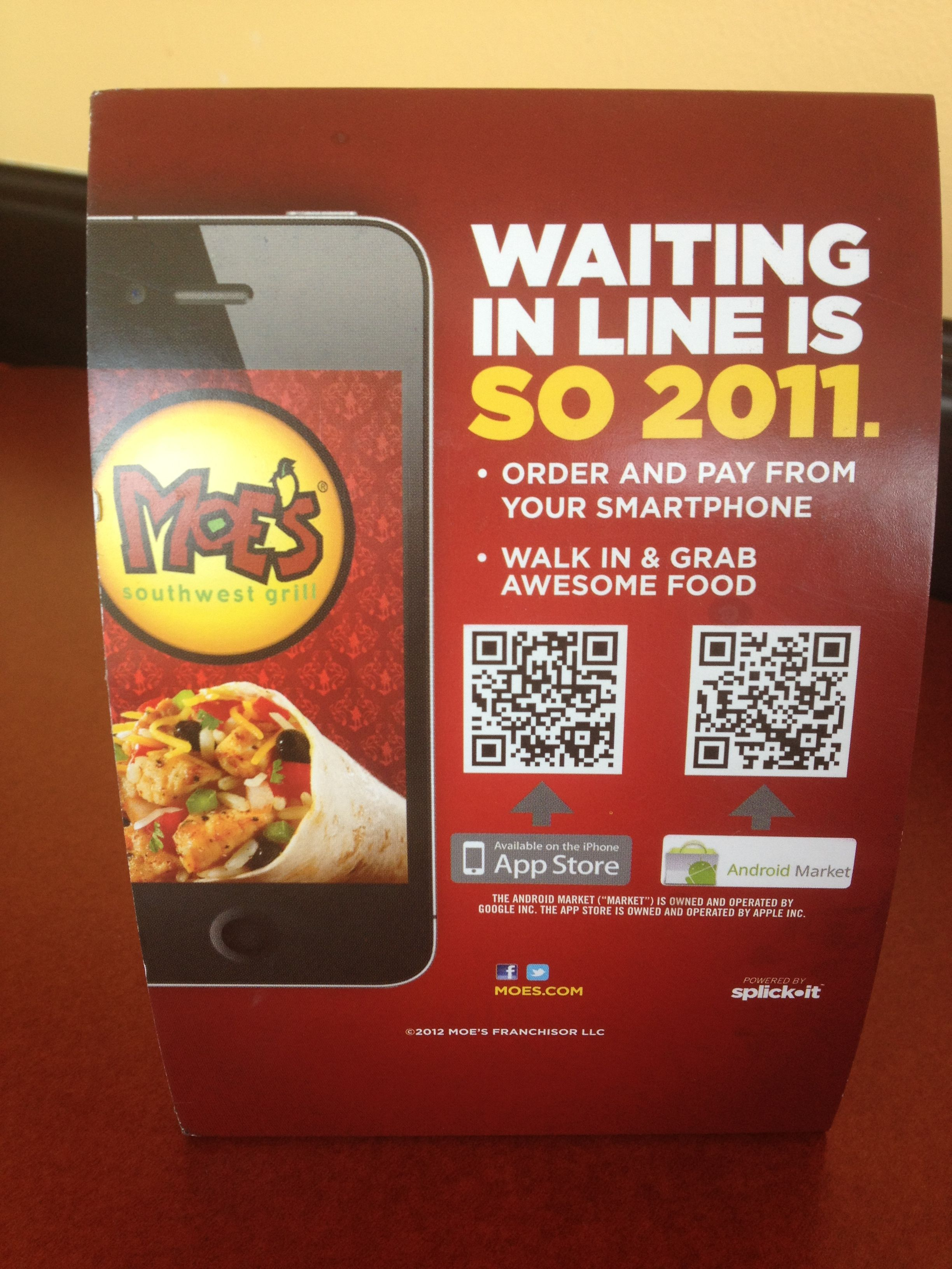 Great Use Of Qr Codes By Moe S Coding