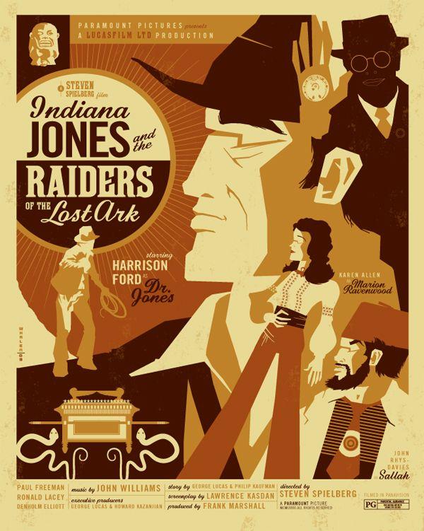 687bd0de Retro Modern Illustrations (12 total) | Design | Movie posters, Tom ...