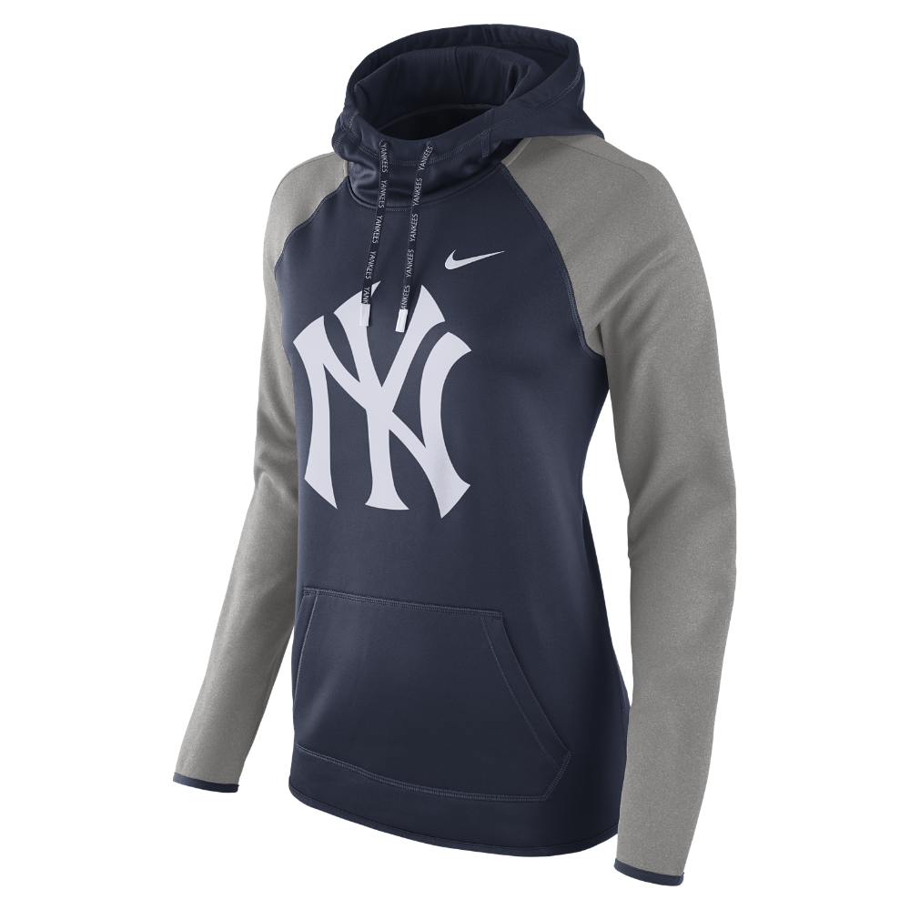 Nike Therma FIT Pullover (MLB Yankees) Women's Hoodie Size