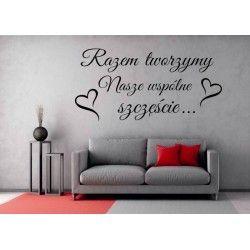 Polskie Naklejki na sciane Cytaty Polish Wall Sticker Zawsze kochaj.. LOVE