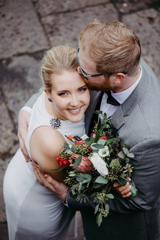 Pin auf Herbst und Winter - Brautstrauß und Blumen für