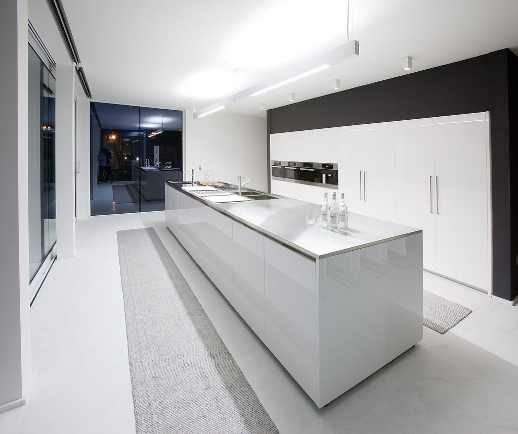 exclusive sink and cabinets in ultramodern kitchen | 25 Luxury Modern Kitchen Designs | Luxury kitchen design ...