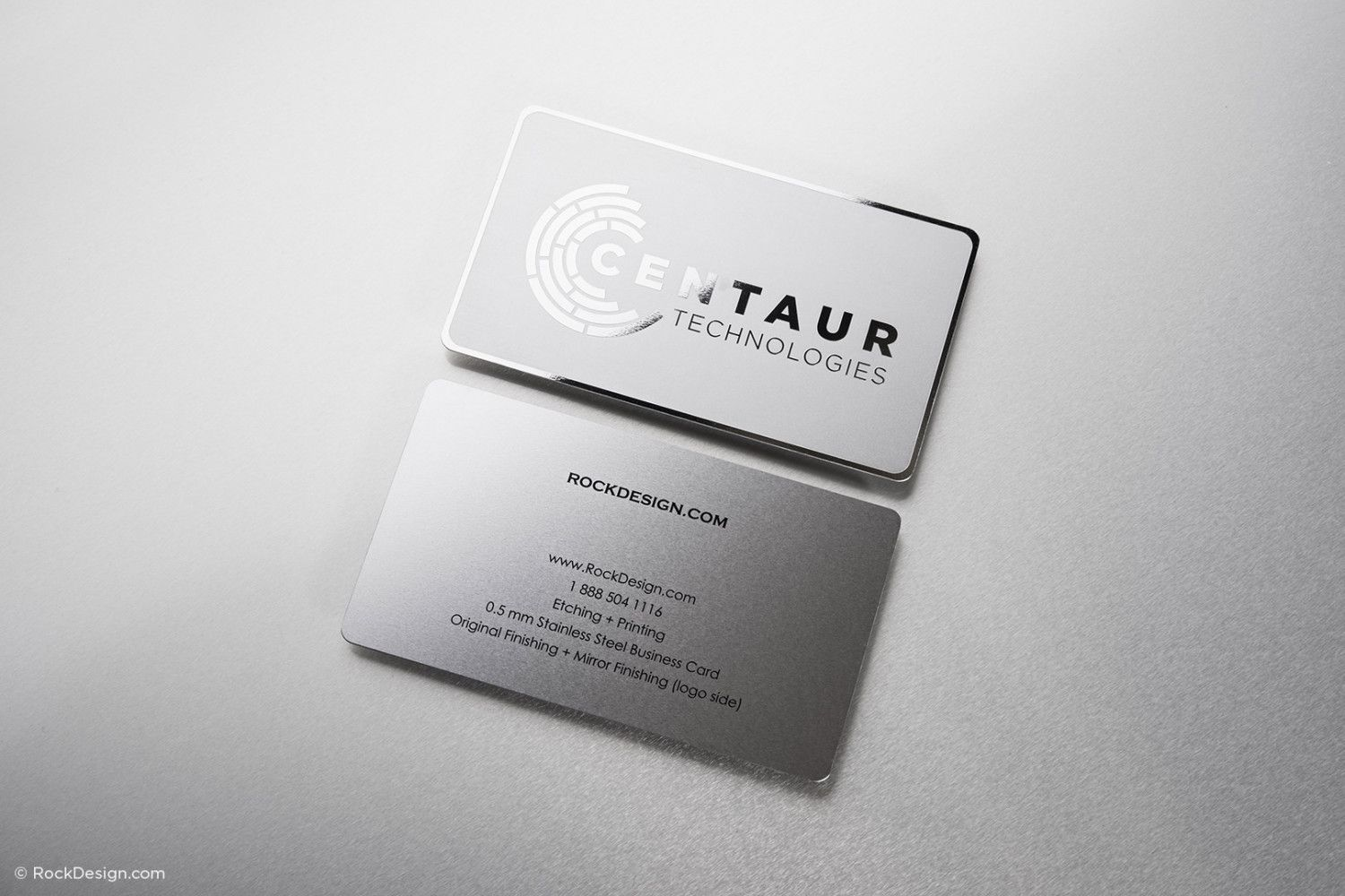 mirror etched stainless card 3 | business card | Pinterest | Card ...