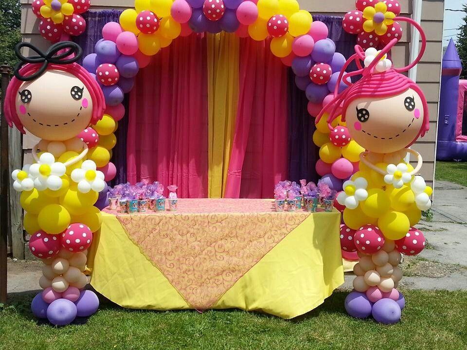 Lalaloopsy Balloon Arch aubrie\u0027s party ideas Pinterest - imagenes de decoracion con globos