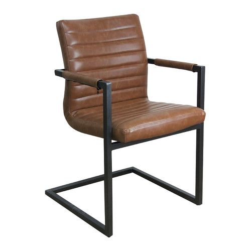 Brutus Buffalo Leather Dining Chair