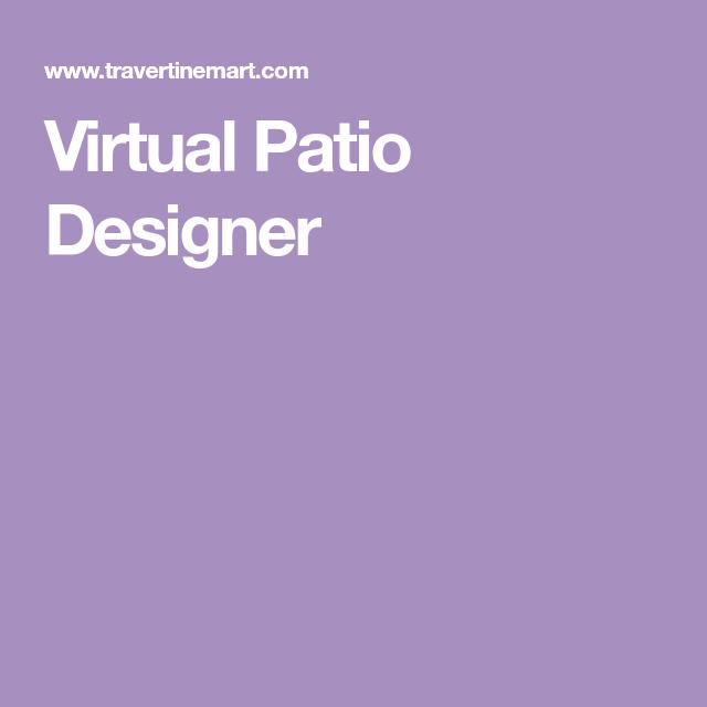 Virtual Patio Designer (With images)   Patio, Design, Pool ... on Virtual Patio Designer id=74444