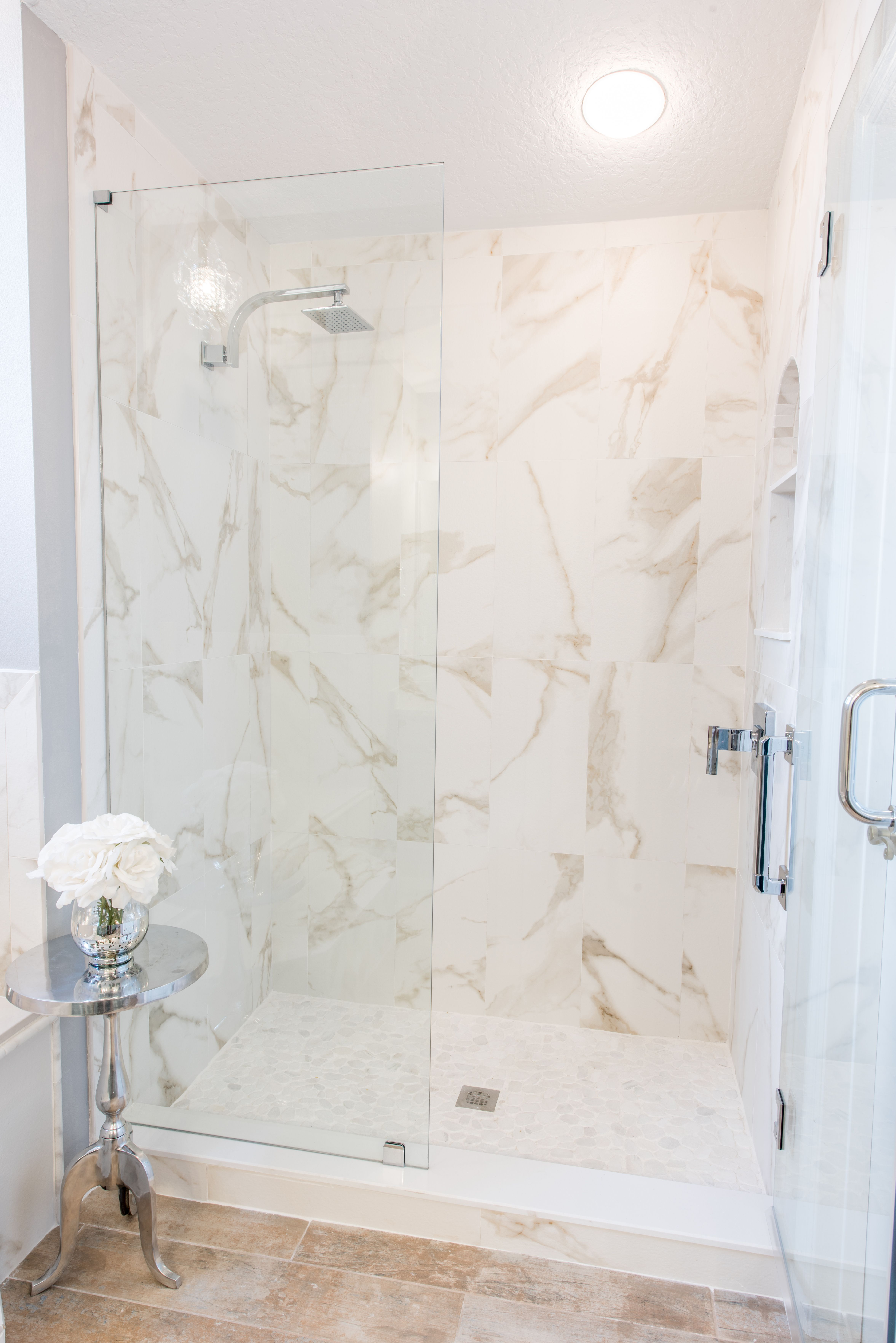 Design By Brittany Hutt Photo Flsportsguy Shower Wall Tile