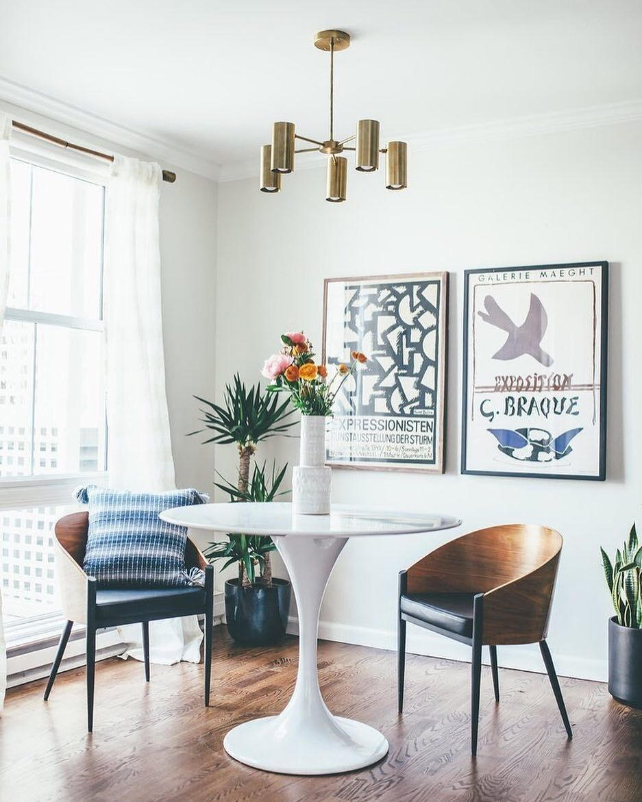 Table for two, please (via @jilldesigns) / Shop our Plaza Chandelier ...