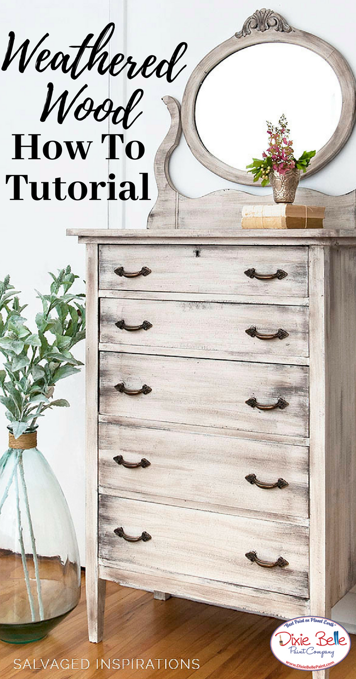 How To Create A Weathered Wood Look Redo Furniture Weathered