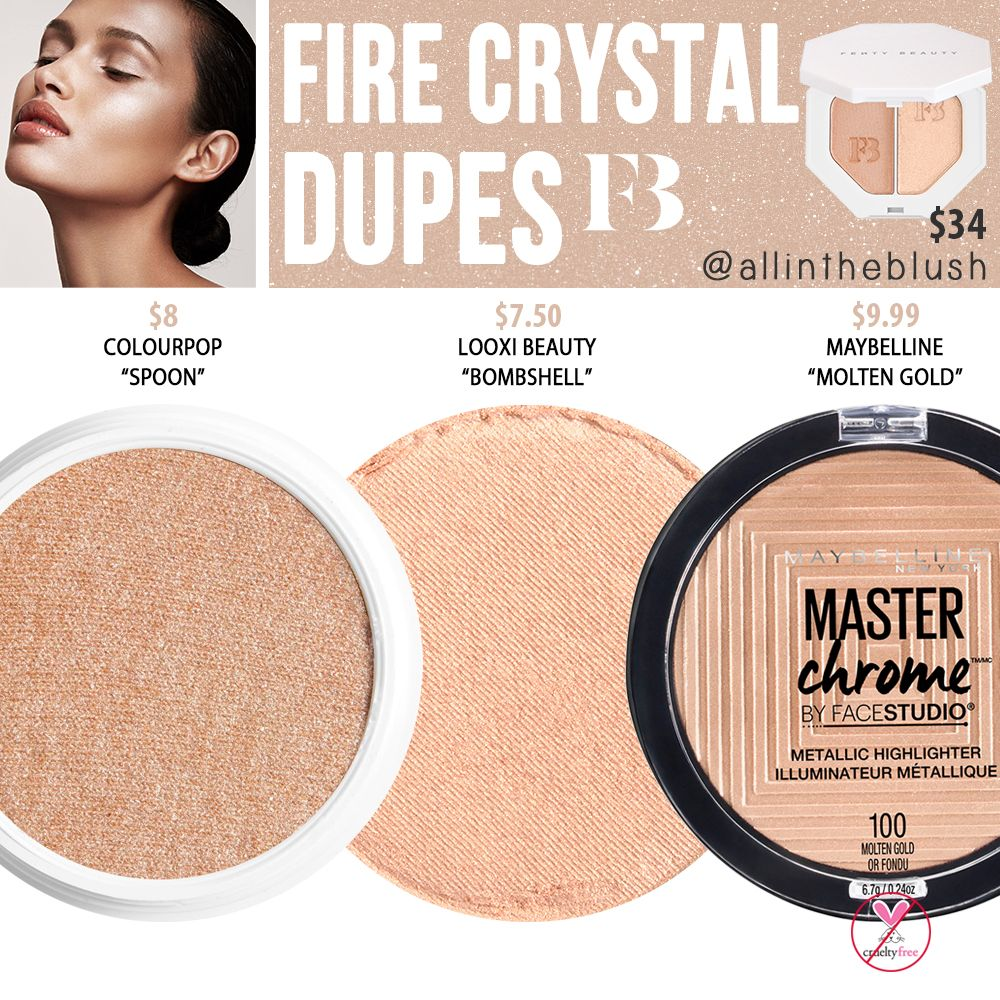 Photo of Fenty Beauty Fire Crystal Killawatt Freestyle Highlighter Dupes – All In The Blush