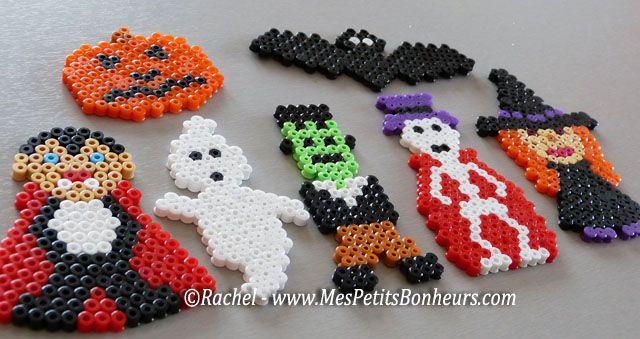 Personnages Halloween en perles Hama