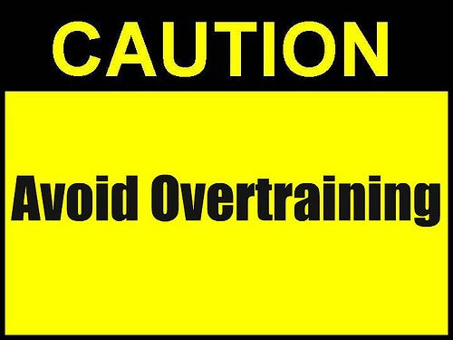 Image result for dont overtrain