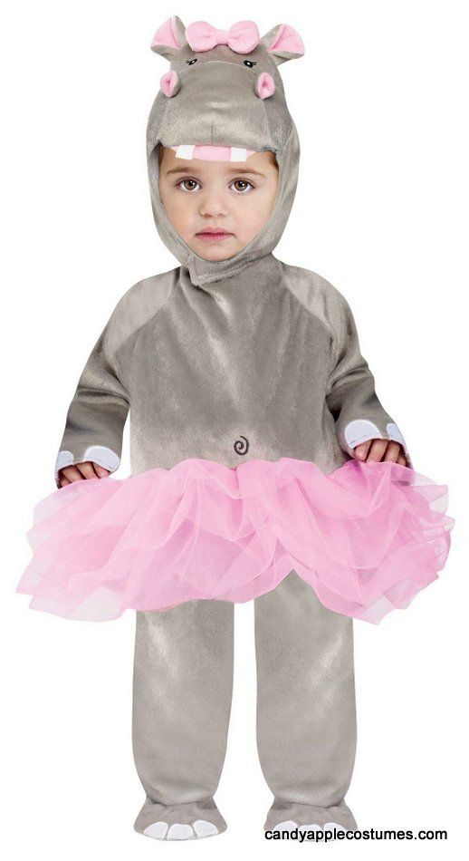 Infant/Toddler Baby Hippo Ballerina Costume -look at the Hippo\'s ...