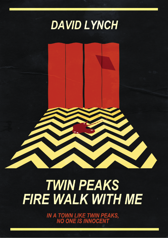 Twin Peaks poster: Welcome to sign gift David Lynch art collection book print