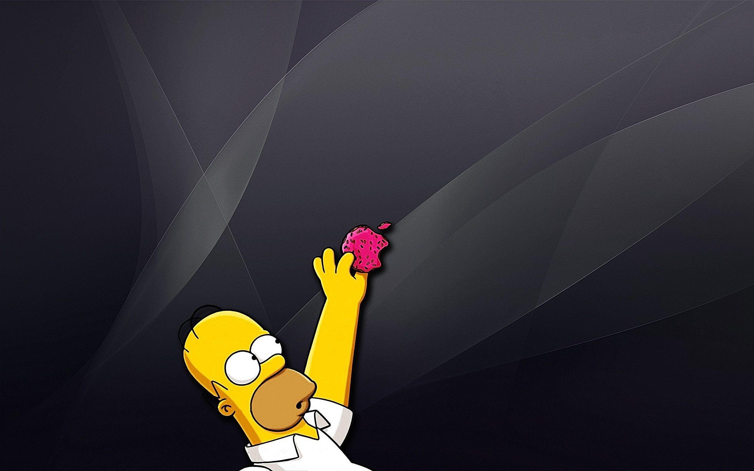 Full Size Homer Simpson Wallpaper Byron Chester 2560 X 1600 Apple Wallpaper Wallpaper Homer