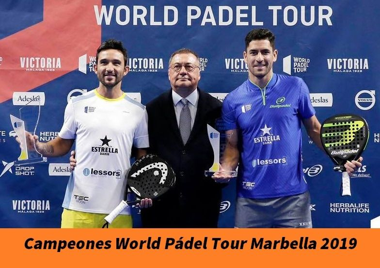Sanyo Y Maxi Campeones En World Pádel Tour Marbella 2019 Padelstar Marbella Campeones Padel