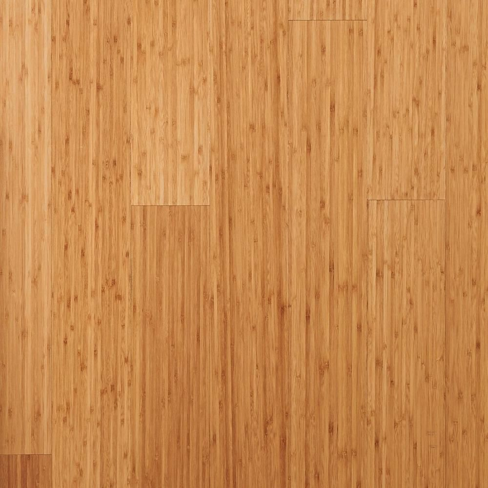 Eco Forest Carbonized Vertical Engineered Bamboo Floor Decor
