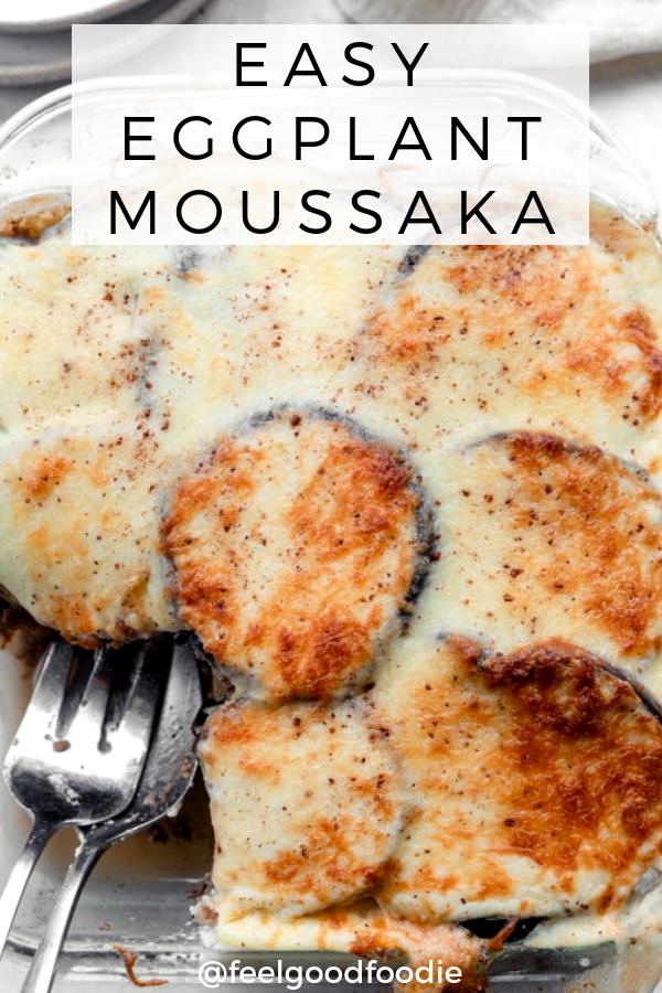 Easy Eggplant Moussaka