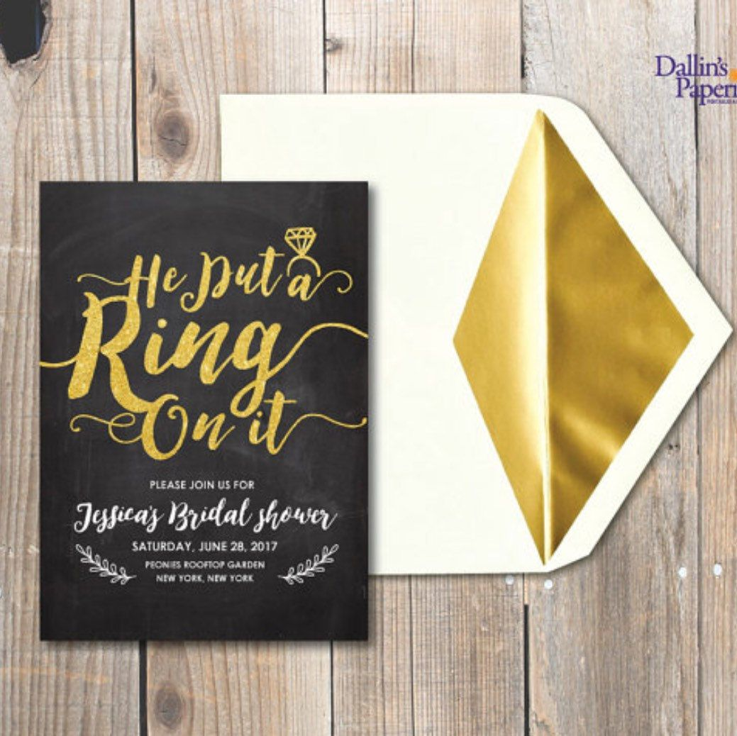 bridal shower keepsake book%0A Glitter Bridal shower invitation  Engagement invitation  Rustic bridal  shower Invitation printables  Customized DIY wedding  gold wedding