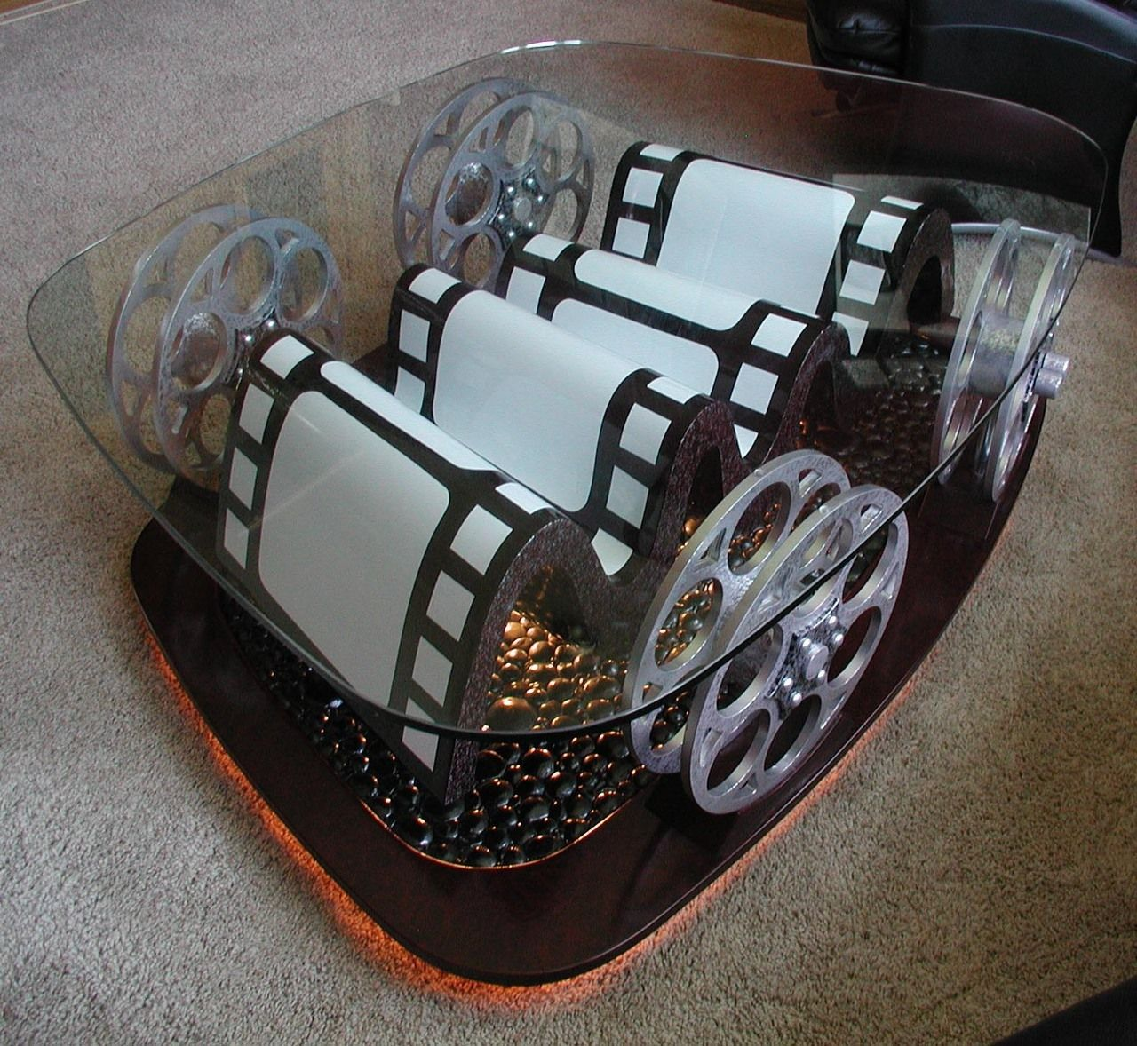Awesome Film Reel Coffee Table (With Images)