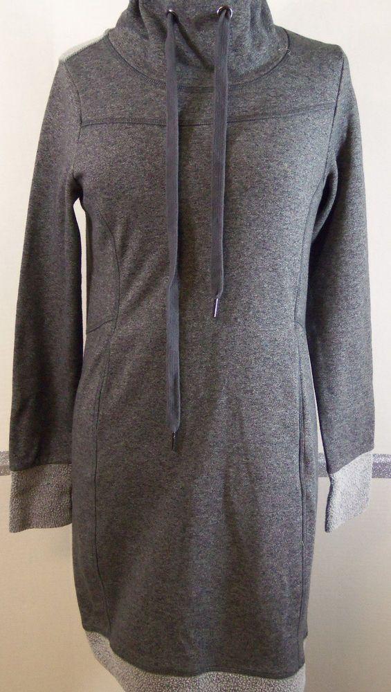 d1ad2902 Kyodan Freedom Trail Sweat Dress Small Dark gray Polyester cotton Yoga  casual #Kyodan #SweatshirtDress #Casual