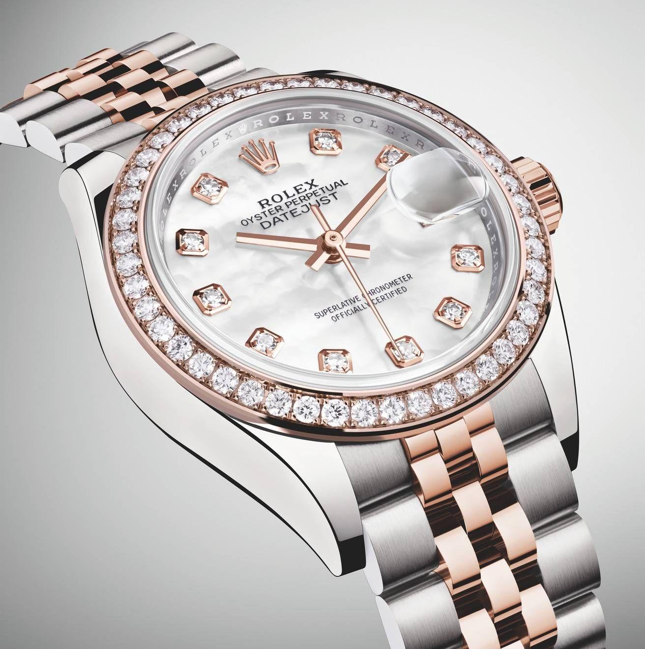 En Excellence Datejust 28Montre 2019 Par Lady Rolex Femme nO80Pwk