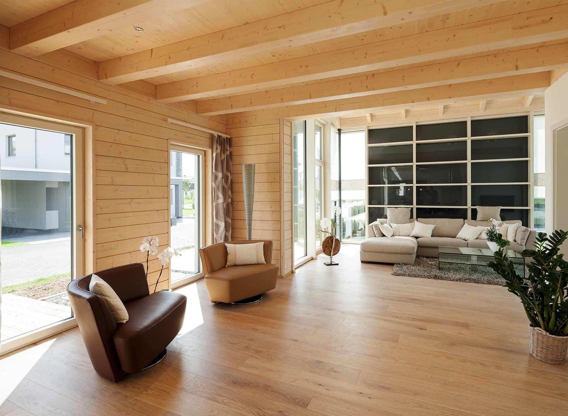 Ein Haus wie ein Baum - Das neue massive Stommel-Musterhaus ist ...