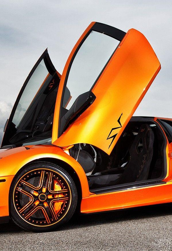 Fancy Orange Car Cool Cars Motor Bikes Cars Motorcycles
