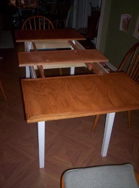 A Draw Leaf Dining Room Table I Built