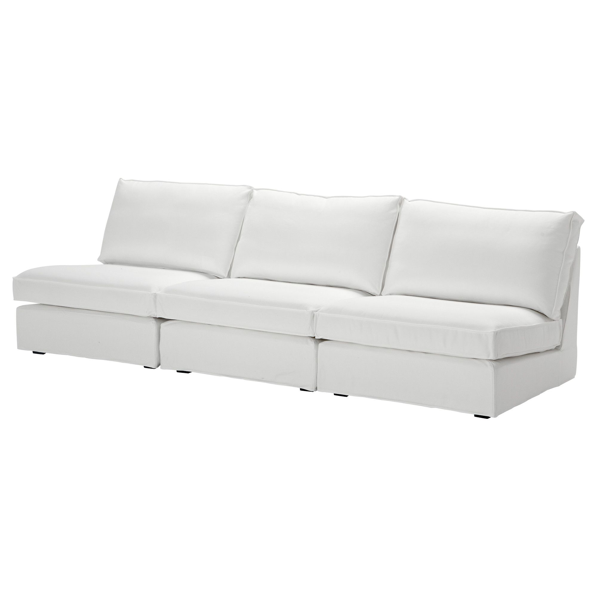 KIVIK 3er-Polstergruppe - Blekinge weiß - IKEA