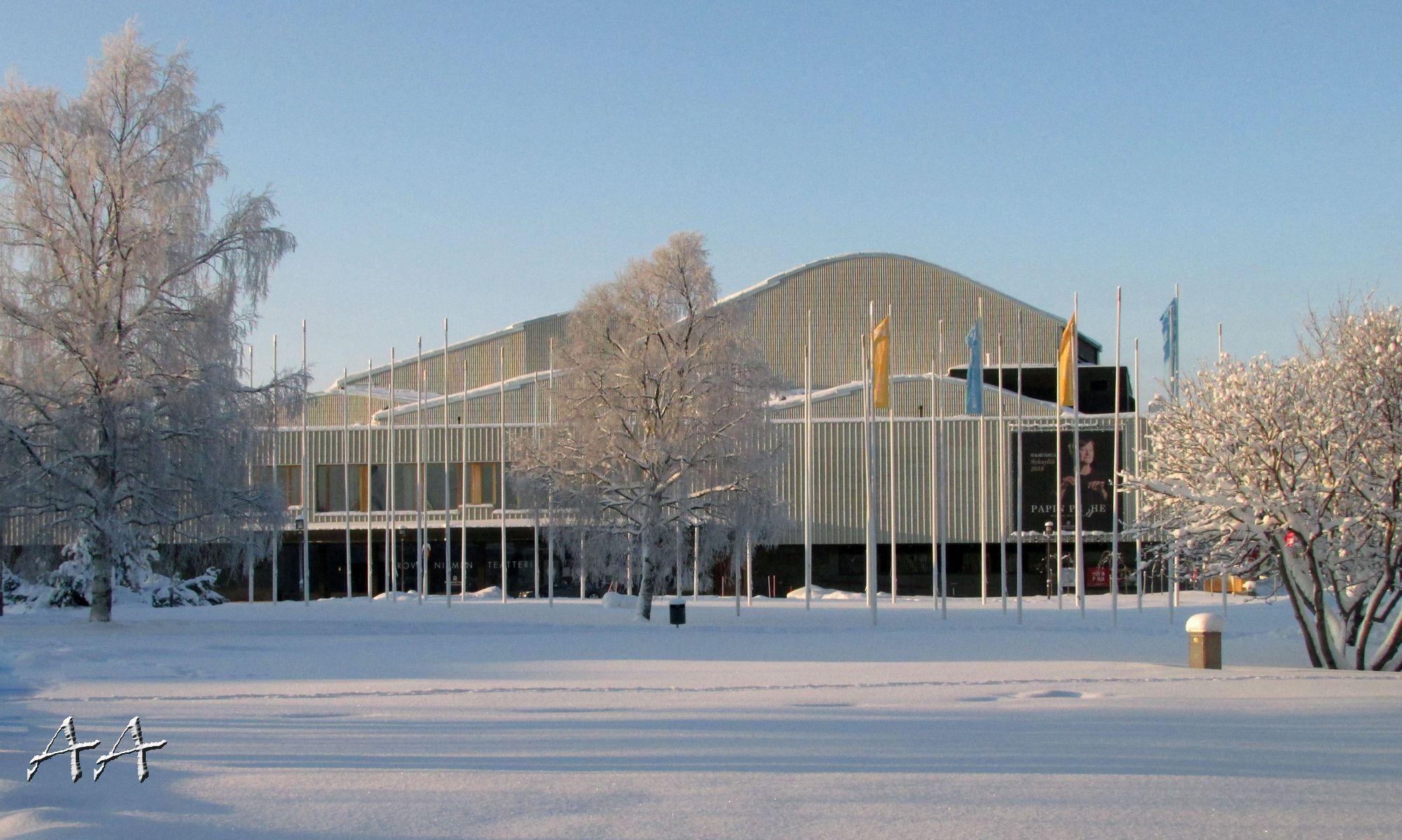 Lappia Hall By Architect Alvar Aalto Rovaniemi Photo Aili A