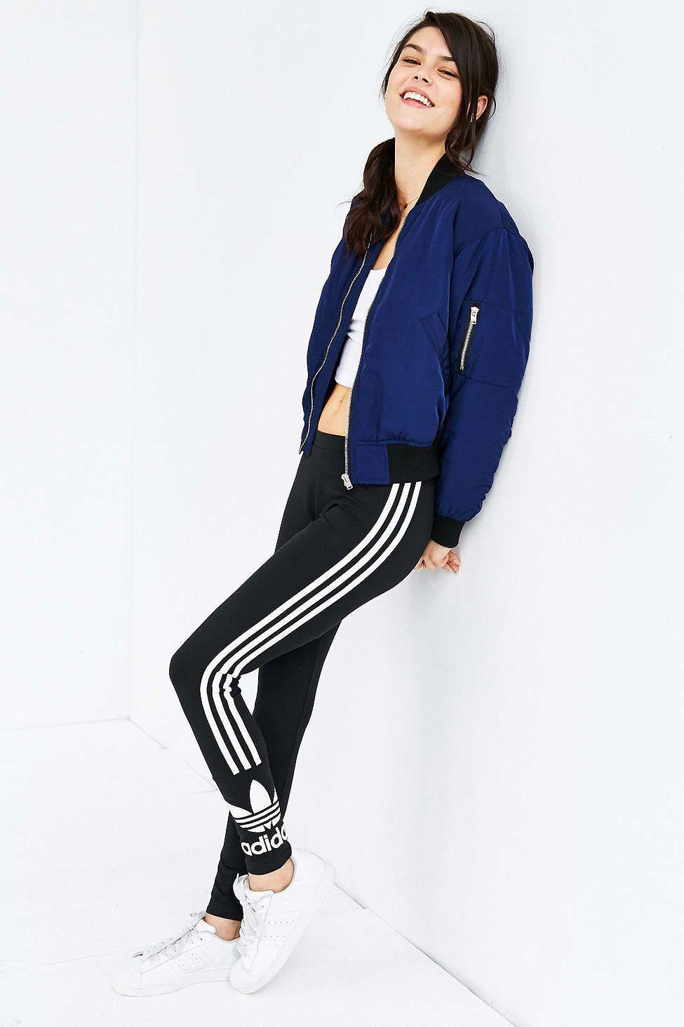 wholesale dealer f3129 e8c48 adidas Originals 3 Stripe Legging UrbanOutfitters