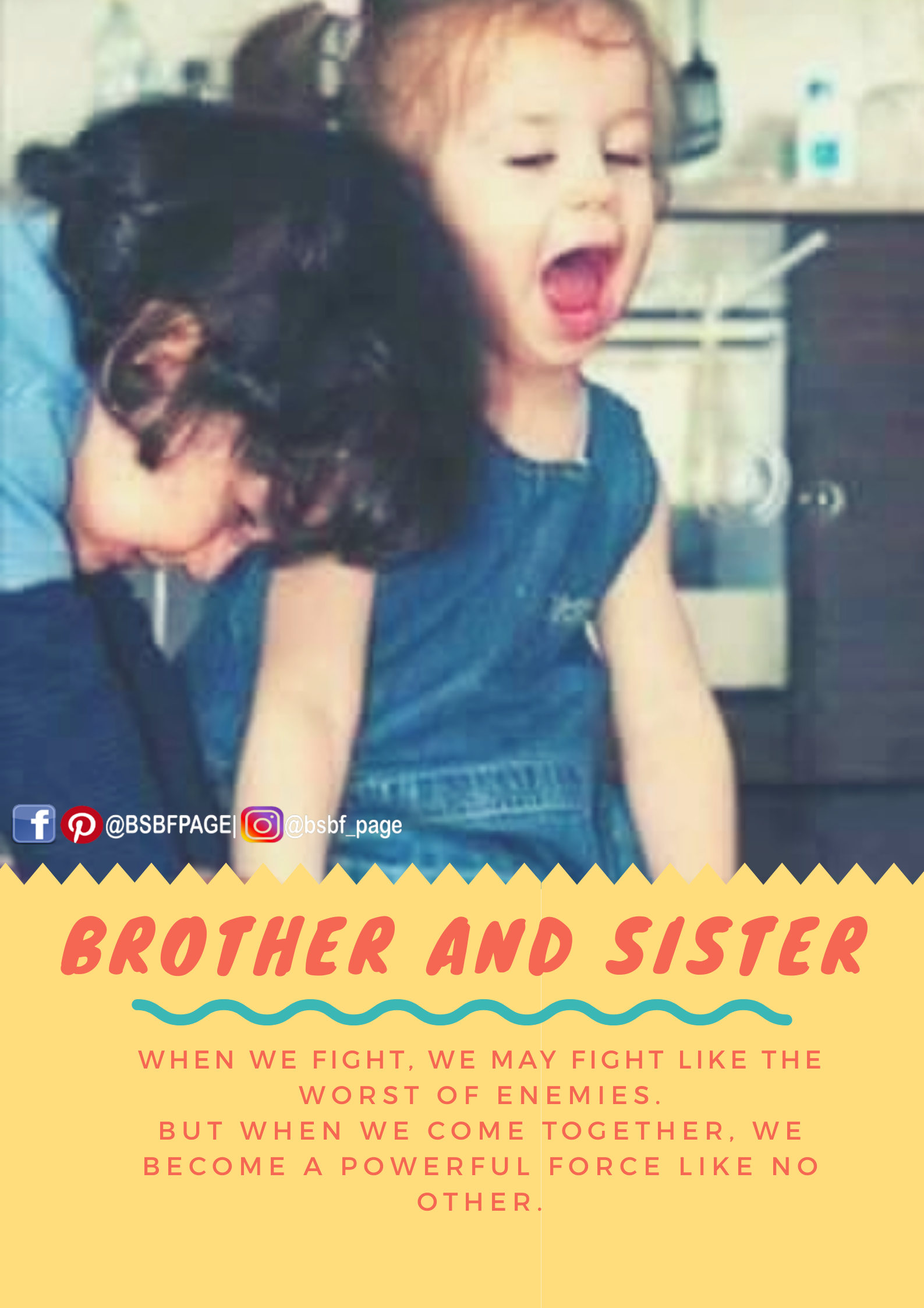 No One Can Mess With Us Brother Quotes My Brother Quotes Sibling Quotes