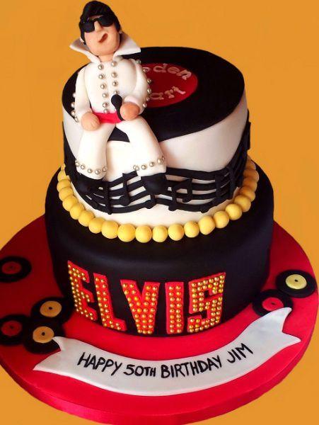 Elvis Cake Novelty Cakes Pasteles Tortas Cumpleanos