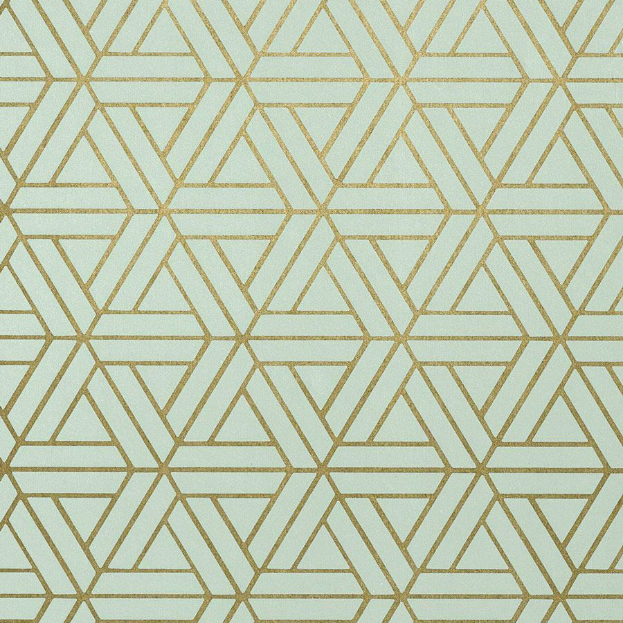 Papier peint de la maison thibaut au motif g om trique - Deco papier peint moderneidees tres creatives ...