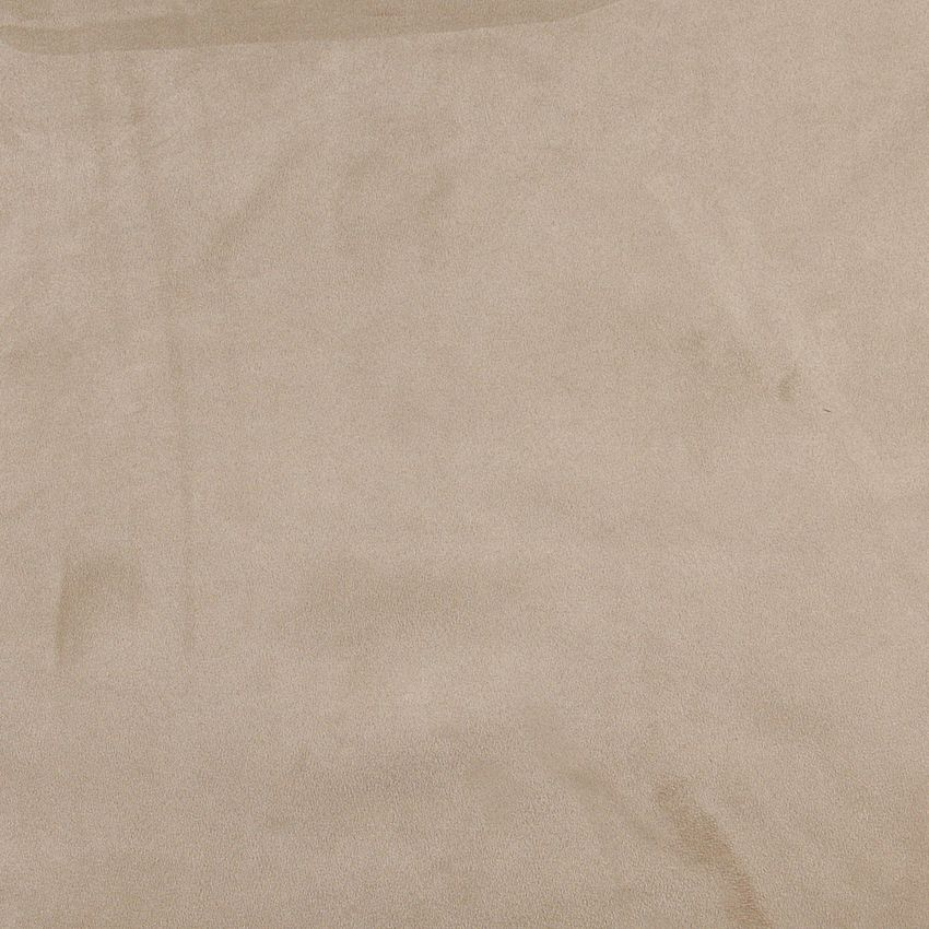 Stone Beige Premium Soft Microfiber Suede Upholstery Fabric