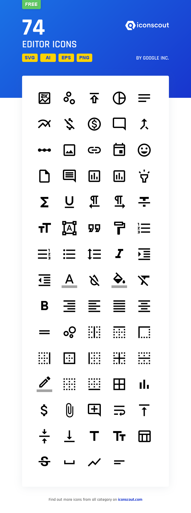 Download Editor Icon Pack Available In Svg Png Eps Ai Icon Fonts Icon Pack Icon Font Icon