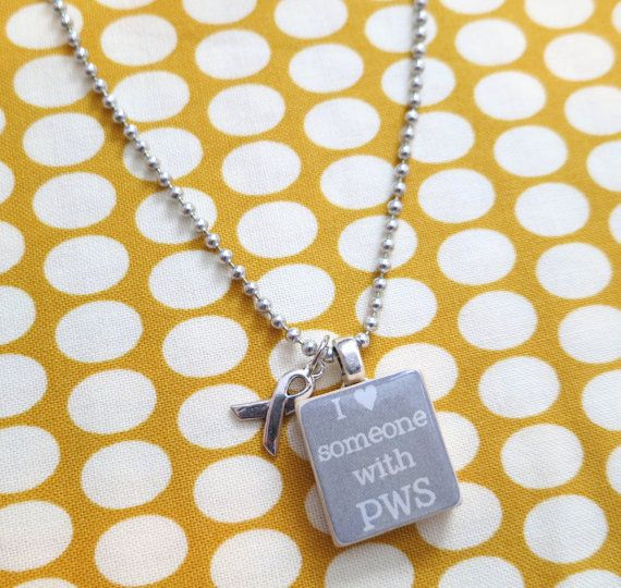 Scrabble Tile Necklace I Love Someone With Pws Gray On Etsy 500