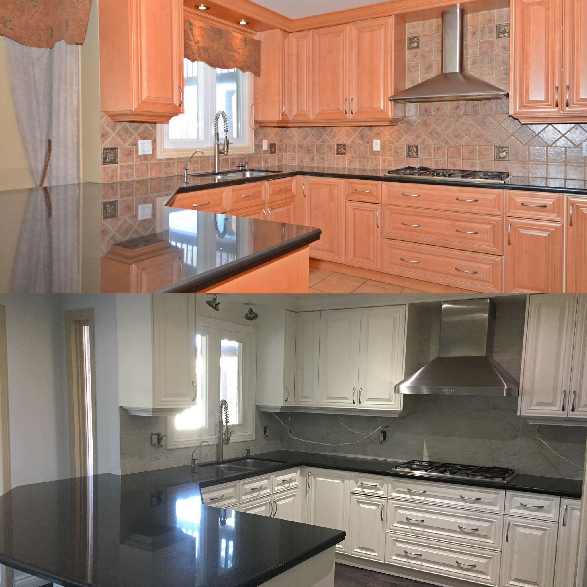 Before and after | Kitchen | Pinterest