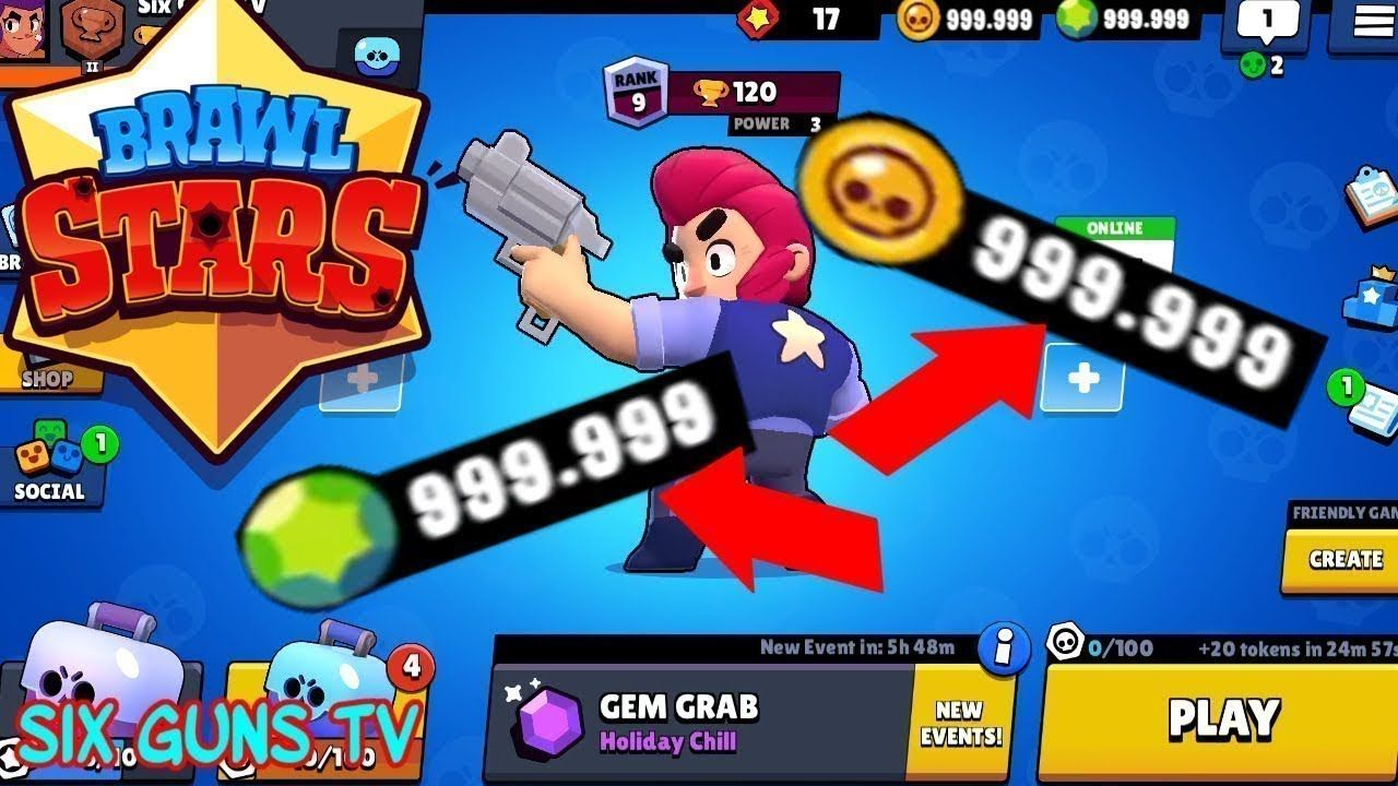 Brawl Strars Hack Mod APK For Unlimited CASH ang Gems brawl stars