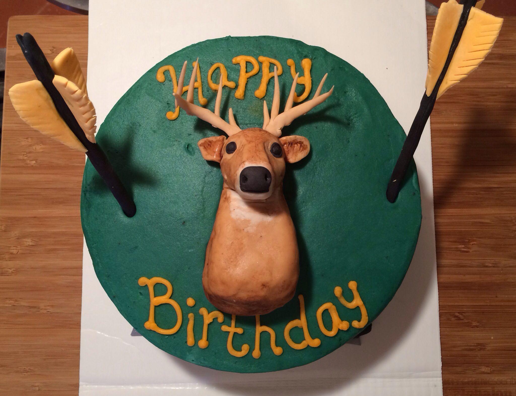 Deer Hunting Birthday Cake Ideas