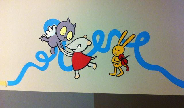 Le service de pédiatrie de lu0027hôpital Necker transformé grâce à de