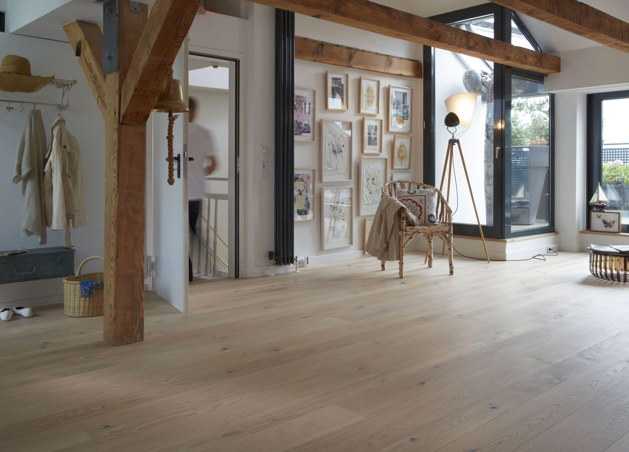 Engineered wood floor Rustic house, Engineered wood
