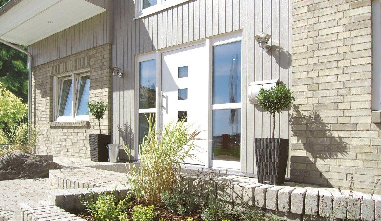 Danhaus 1 Liter-Haus! Westerland Hauseingangsseite Haus bauen