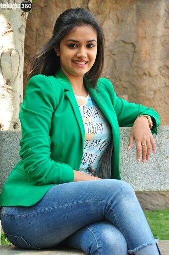 Keerthi Suresh-The Dream Queen  Sexy Jeans Girl-9936