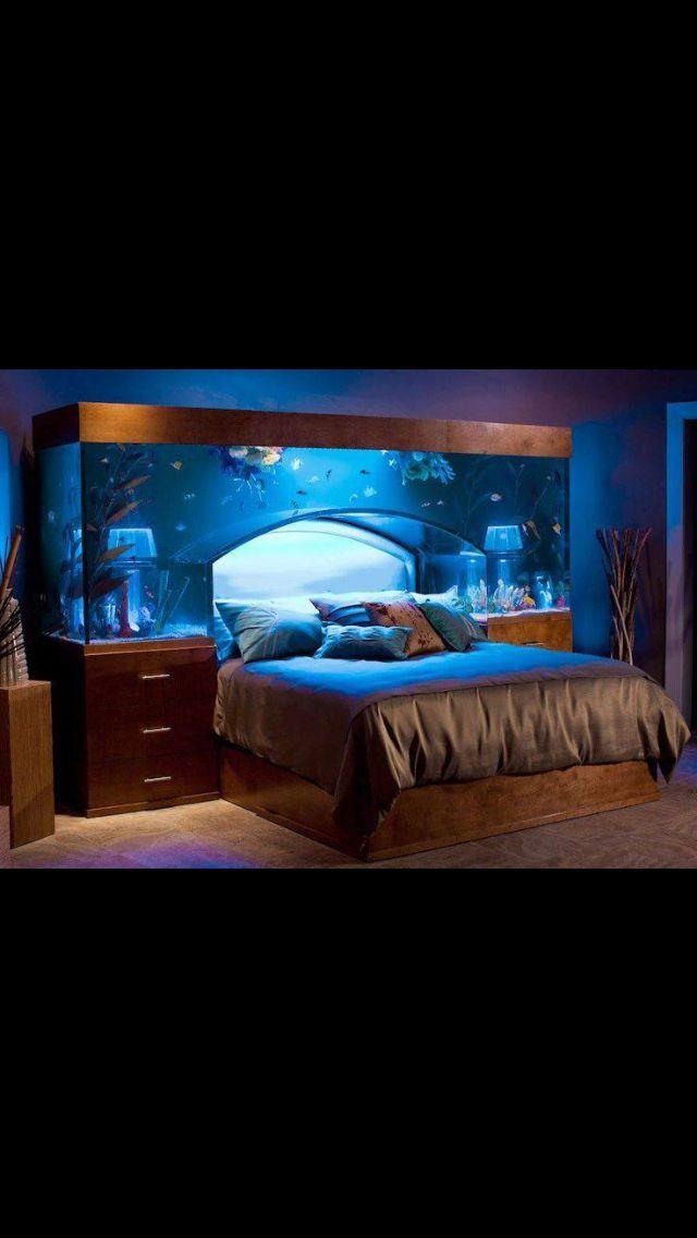 Fish tank bed | Building | Pinterest | Fish tank bed