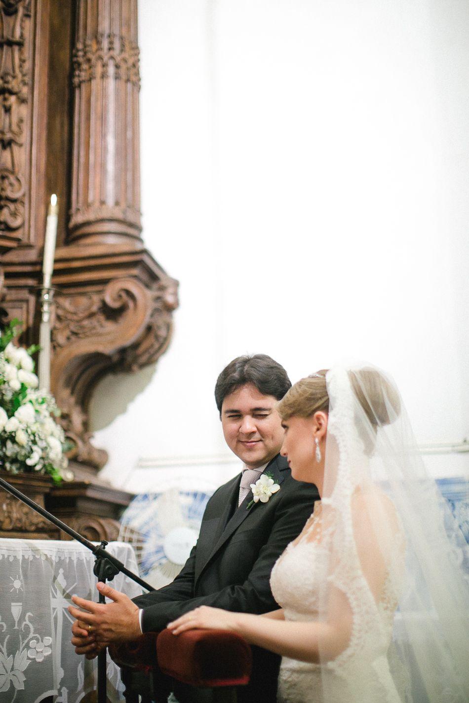 Casamento - Wedding - Rio de Janeiro - Brasil - Brazil - RJ - Raoní Aguiar Fotografia - Cerimônia - Igreja católica - Centro do Rio - Rio antigo - Outeiro da Glória
