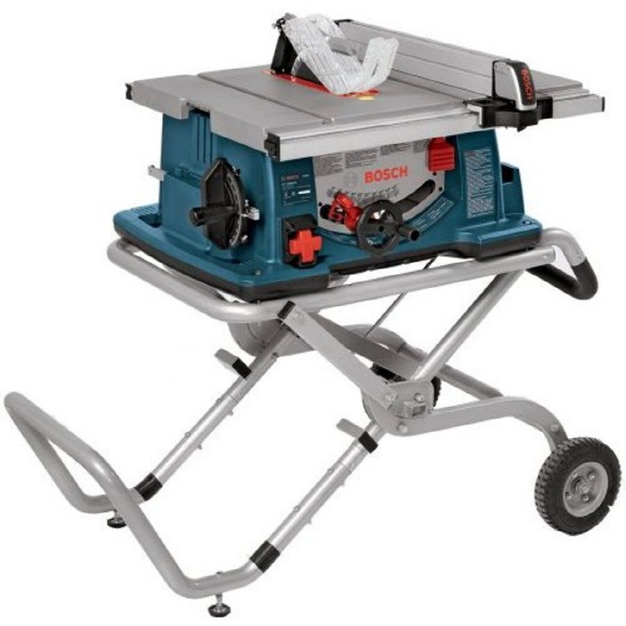 Shop Bosch 10 In Table Saw At Lowes Com Portable Table Saw Best Portable Table Saw Best Table Saw