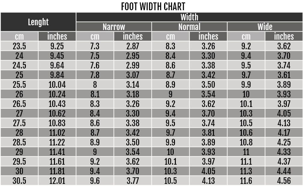 Nike Football Boot Sizing Chart in 2020